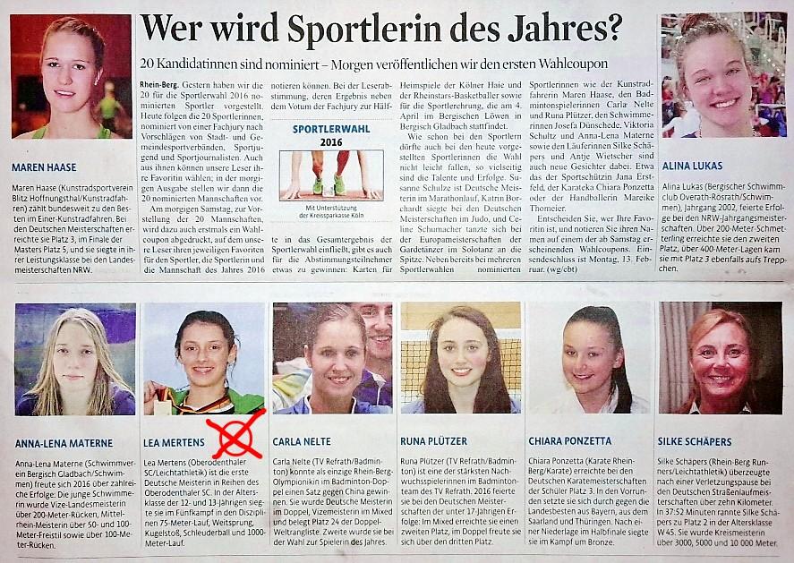 Sportlerin_Des_Jahres_2016_KSTA_Wahl_Lea_Mertens