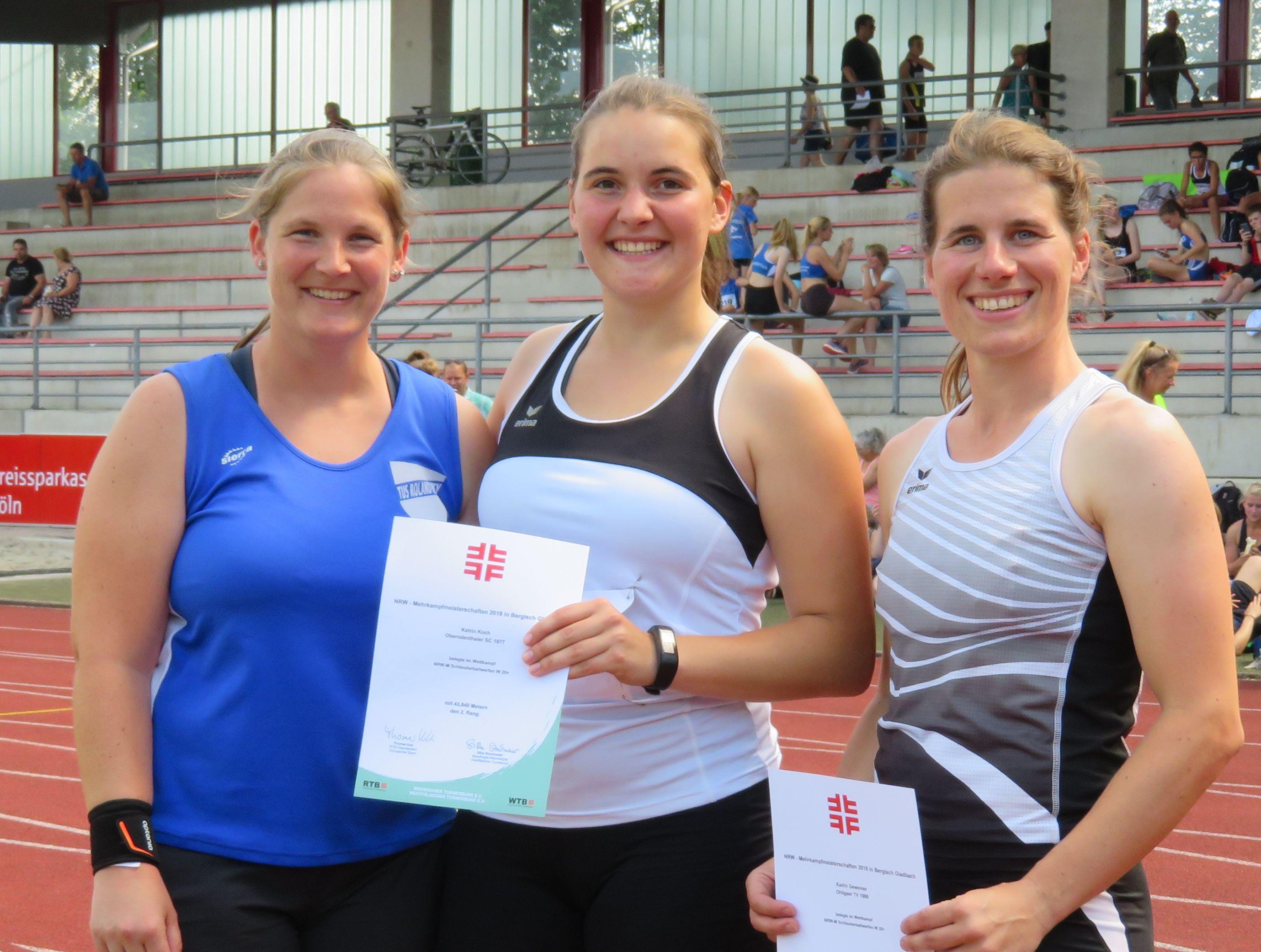 OSC Mehrkampfmeisterschaften NRW 2018 Katrin Koch