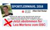 Sportlerwahl 2018: Lea Mertens vom OSC ist nominiert – jetzt abstimmen & Tablets gewinnen